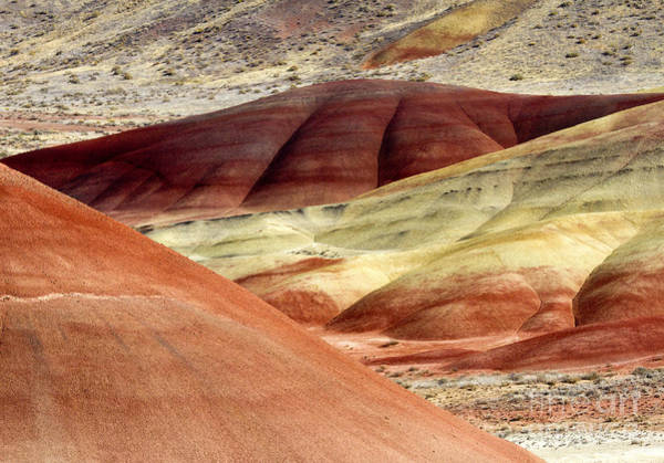 Painted Desert Photograph - Hills Of Red by Mike Dawson