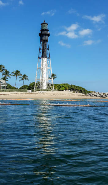 Photograph - Hillsboro Inlet Lighthouse by David Hart