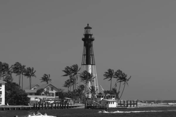 Photograph - Hillsboro Lighthouse by Sean Allen