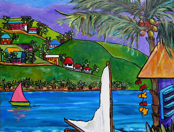 Painting - Hillside On The Island by Patti Schermerhorn