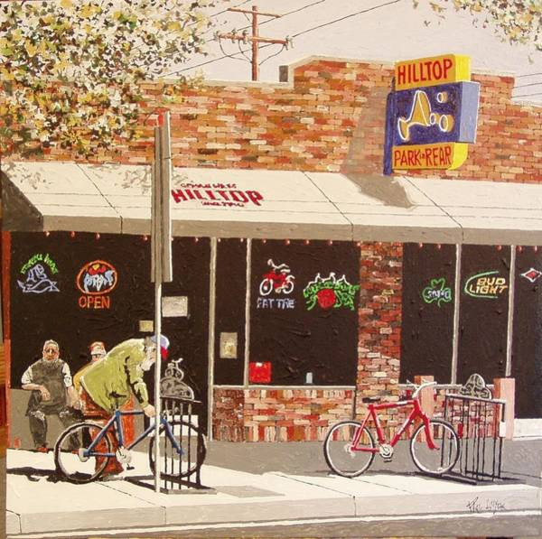 Wall Art - Painting - Hilltop East Sac by Paul Guyer