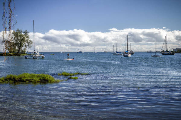 Port Orange Photograph - Hilo Bay by Eduard Moldoveanu