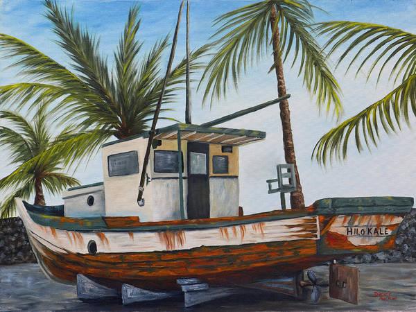 Painting - Hilo Kale by Darice Machel McGuire