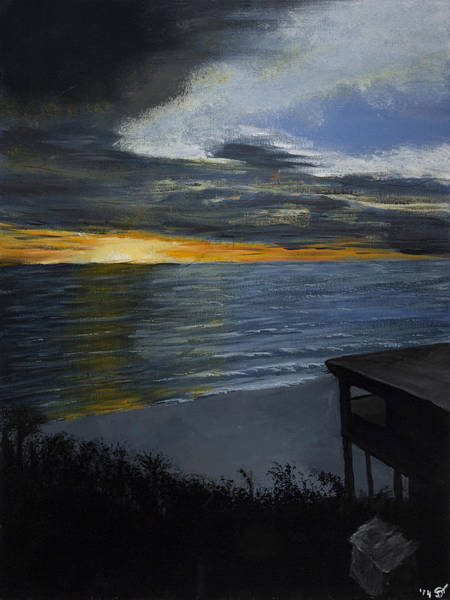 Painting - Hilton Head Sunrise by Davend Dominick