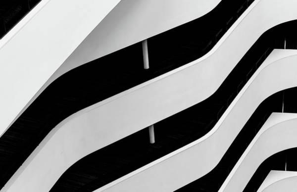 Contrast Photograph - Hilton Lines-1 by Henk Van Maastricht