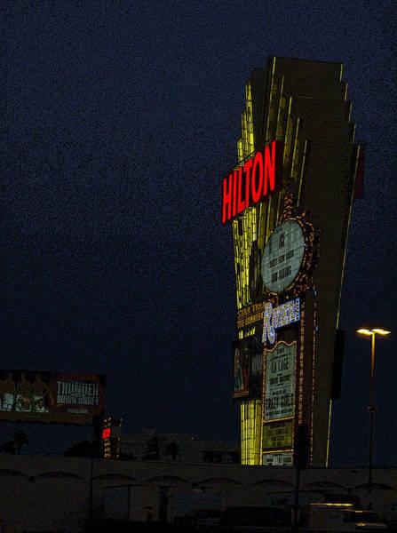 Hilton Hotel Digital Art - Hilton by Lovina Wright