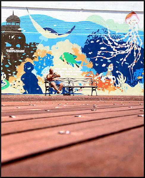 Wall Art - Photograph - Him And His Dreams by Valentino Visentini