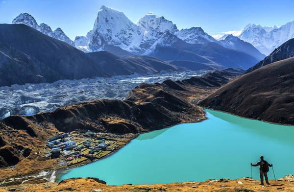 Gokyo Photograph - Himalaya Landscape, Gokyo, Sagarmatha by Feng Wei Photography