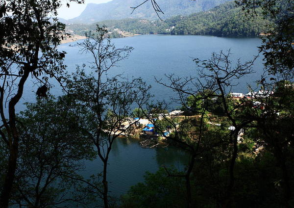 Photograph - Himalayan Lake - Nepal by Aidan Moran