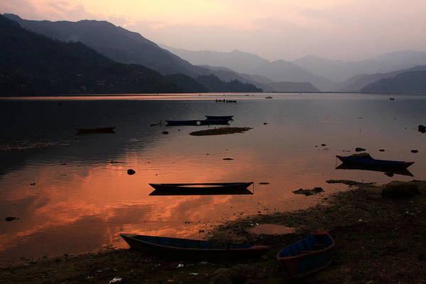 Photograph - Phewa Lake, Pokhara, Nepal by Aidan Moran