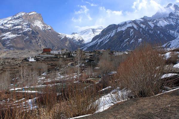 Photograph - Himalayan Town Of Muktinath by Aidan Moran