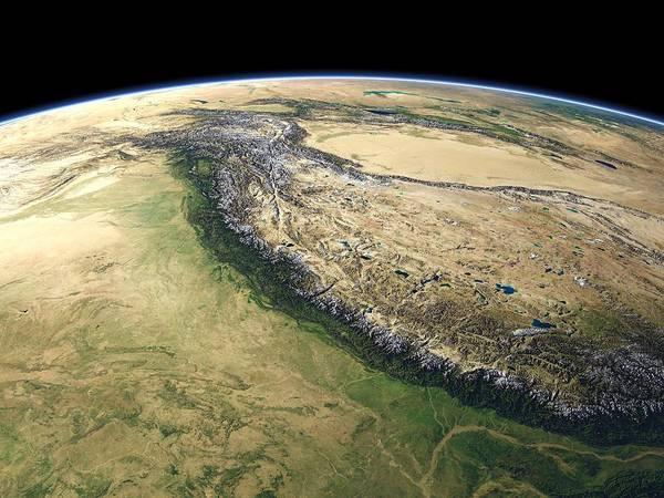 Himalaya Wall Art - Photograph - Himalayas by Christoph Hormann/science Photo Library