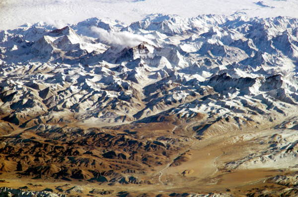 Wall Art - Photograph - Himalayas From Space by Nasa/science Photo Library