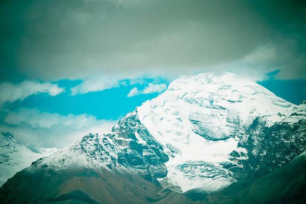 Himalyas Range Closeup View From Tibet Art Print
