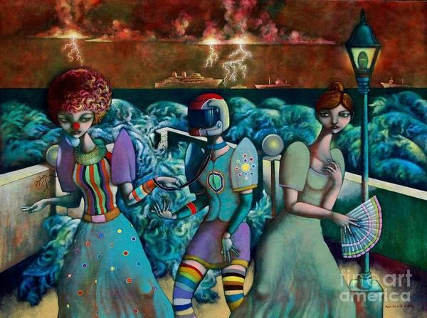 Wall Art - Painting - Hindi Dahil Bago Bagay Hindi Dahil Moderno Terno by Paul Hilario