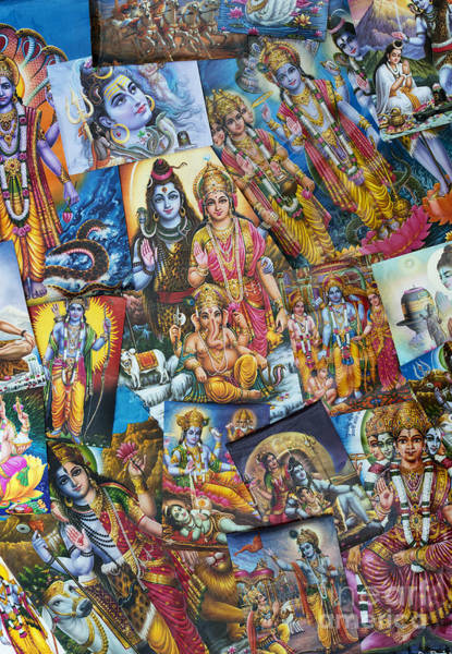 Hindu Photograph - Hindu Deity Posters by Tim Gainey