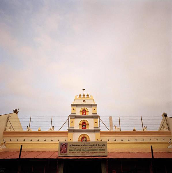 Photograph - Hindu Gopuram by Shaun Higson