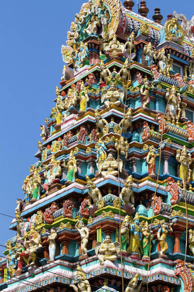 City Of David Photograph - Hindu Temple In (rangoon by David R. Frazier