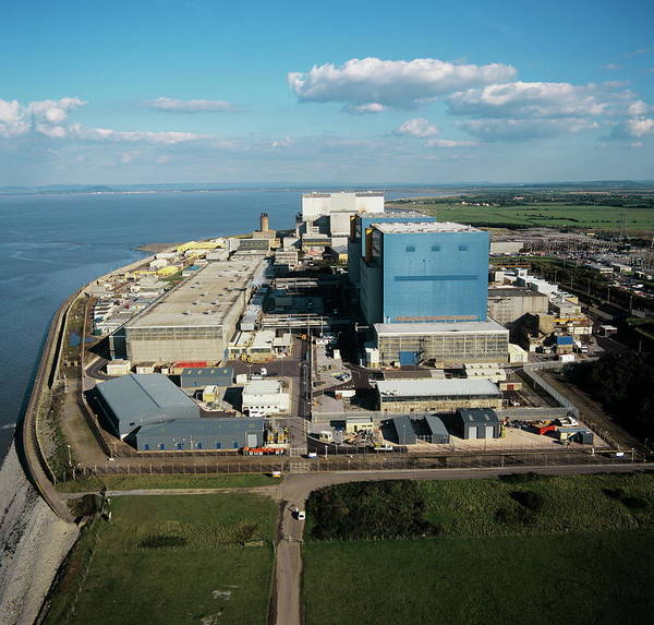Controversial Wall Art - Photograph - Hinkley Point Nuclear Power Station by Skyscan/science Photo Library