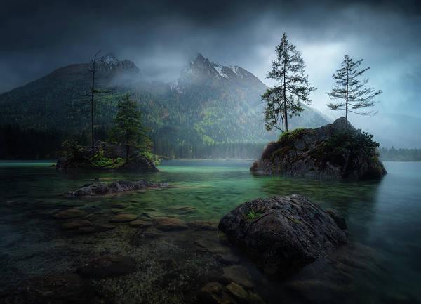 Spring Mountains Photograph - Hinterisland 2. by Juan Pablo De