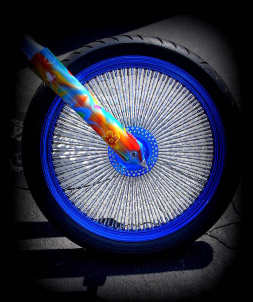 Wall Art - Photograph - Hippie Bike by Laurie Perry