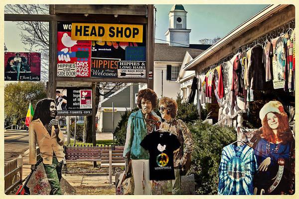 Janis Joplin Photograph - Hippies Always Welcome by Julie Palyswiat