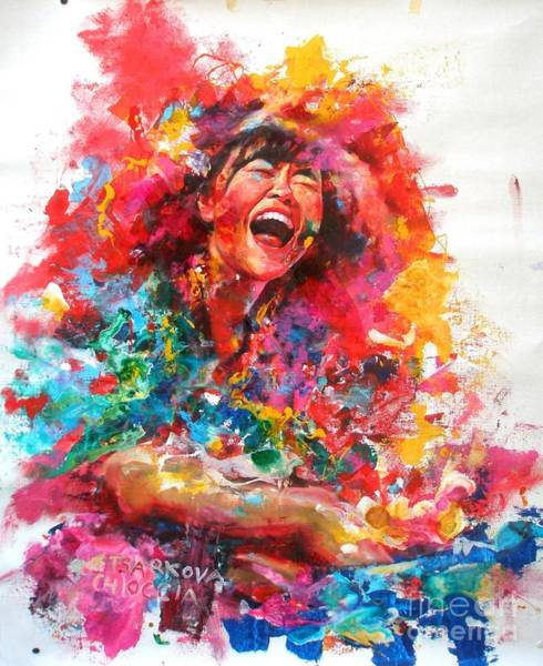Wall Art - Painting - Hiromi by Massimo Chioccia