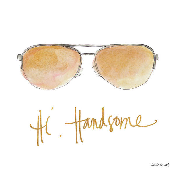Sunglasses Painting - His And Her Sunglasses II by Lanie Loreth
