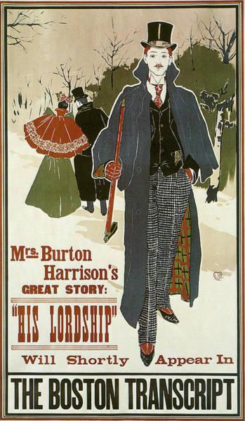 Photograph - His Lordship1896 by Louis John Rhead