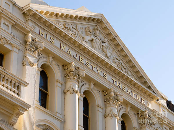 Photograph - His Majesty's Theatre 01 by Rick Piper Photography