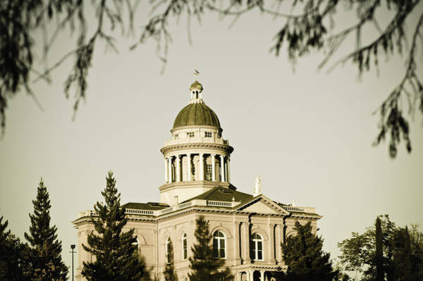 Photograph - Historic Auburn Courthouse 2 by Sherri Meyer