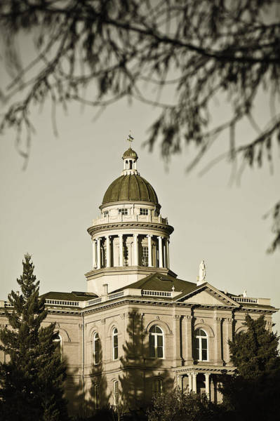 Historic Auburn Courthouse 6 Art Print