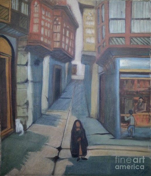 Baghdad Painting - Historic Baghdad by Ola Albayati