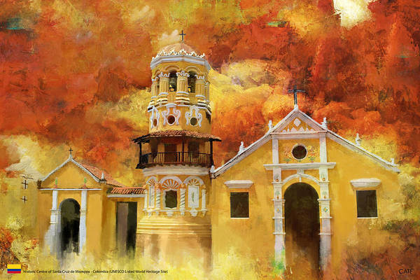 Historic Center Of Santa Cruz De Mompox Art Print