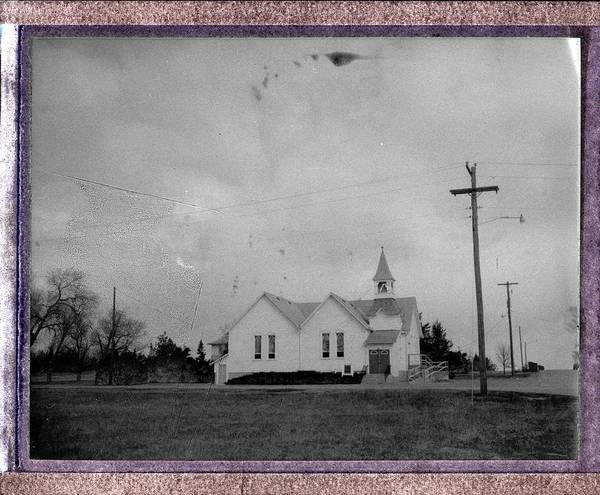 Photograph - Historic Church - Whitney Nebraska by HW Kateley