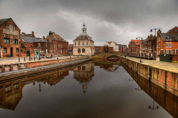 Photograph - Historic Customs House And Dramatic Reflection by Dennis Dame