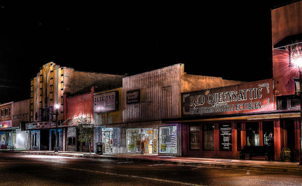 Cantina Photograph - Historic Downtown Rosenberg by David Morefield