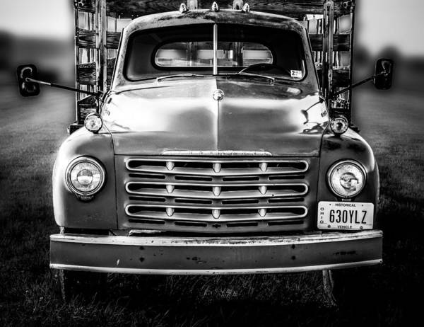 Photograph - Historic In Black And White by Michael Arend