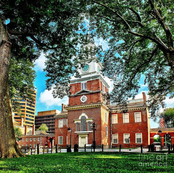 Photograph - Historic Independence Hall by Nick Zelinsky