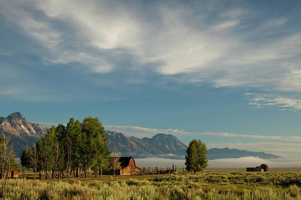 Barn Photograph - Historic Moulton Barn In Grand Teton by Carol Polich Photo Workshops