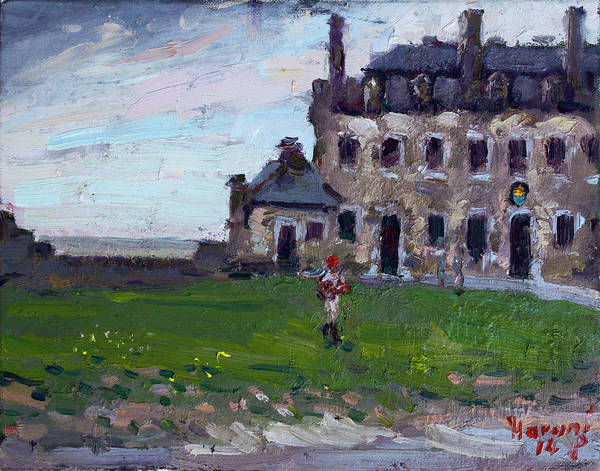 Castles Painting - Historic Old Fort Niagara by Ylli Haruni
