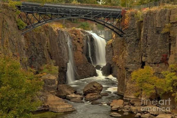 Photograph - Historic Patterson Great Falls New Jersey by Adam Jewell