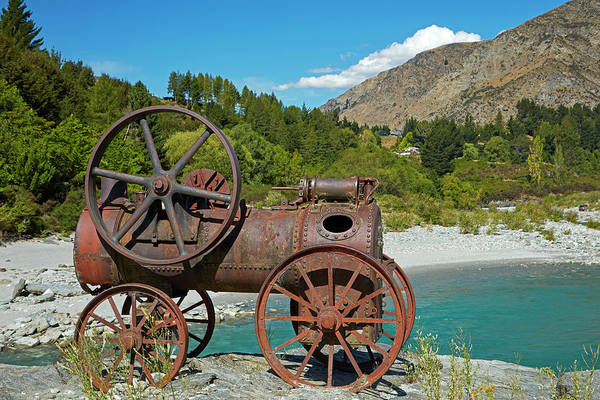 Traction Photograph - Historic Relic From The Gold Rush by David Wall