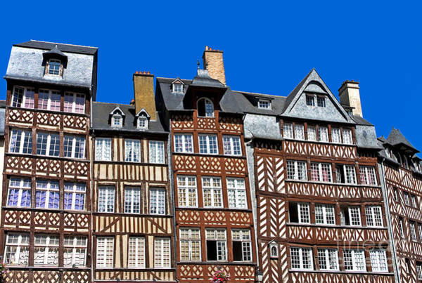 Wall Art - Photograph - Historic Rennes by Jane Rix
