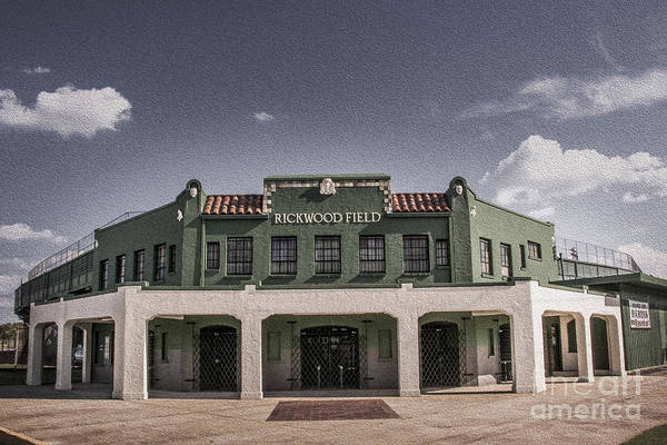 Historic Rickwood Field Art Print