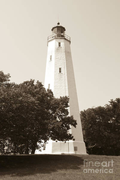 Historic Sandy Hook Lighthouse Art Print