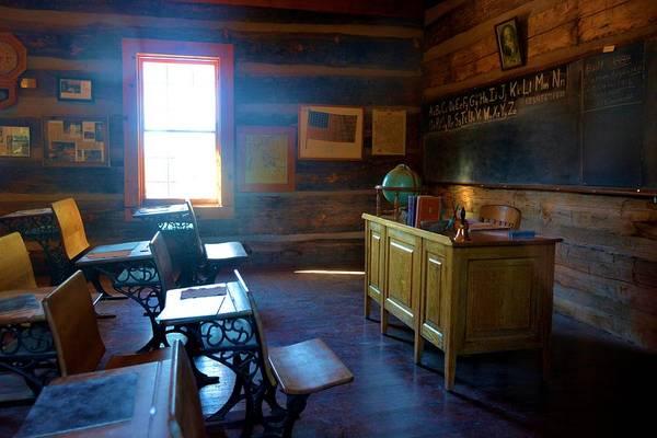 Pioneer School Photograph - Historic School Hoiuse by Richard Jenkins