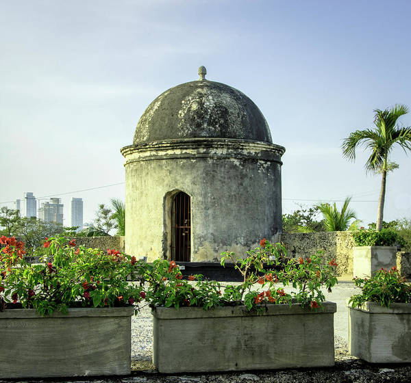 Cartagena Photograph - Historic Spanish Colonial Walls by Jerry Ginsberg