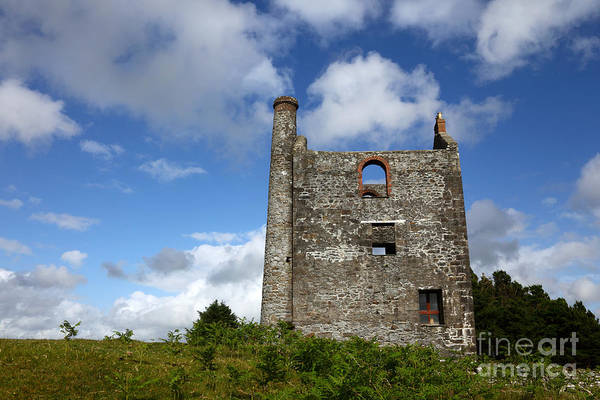 Photograph - Historic Tin Mine Cornwall by James Brunker