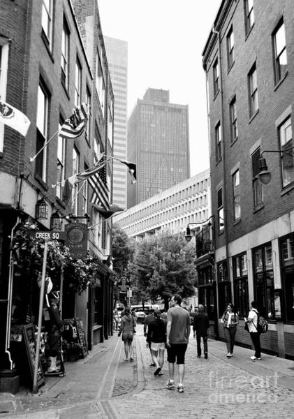 Photograph - Historic Union Street Boston Ma by Staci Bigelow